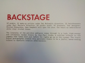 Backstagedetail